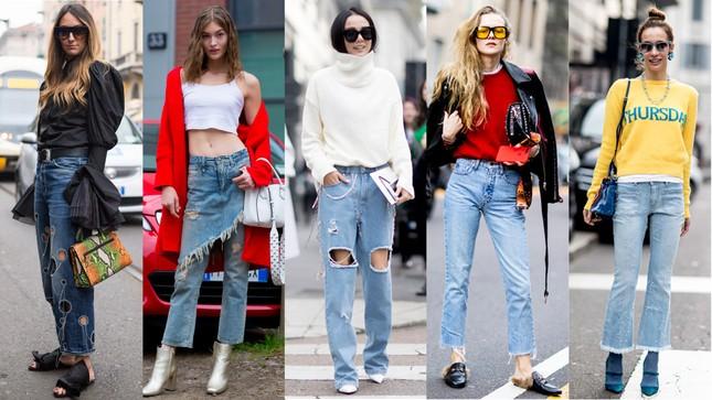 Quần jeans ai cũng có, nhưng chọn sao để tôn dáng thì không phải ai cũng biết! ảnh 3