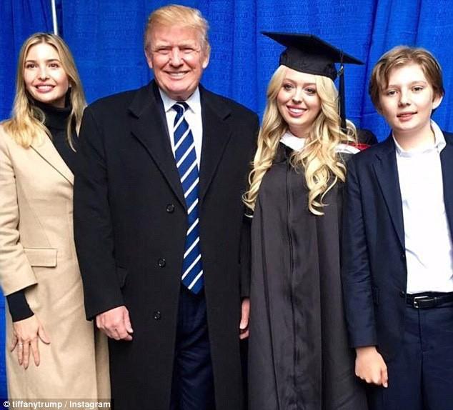 Những điều ít biết về Tiffany Trump - cô công chúa dẫn đầu dàn rich kid của nhà Trump ảnh 11