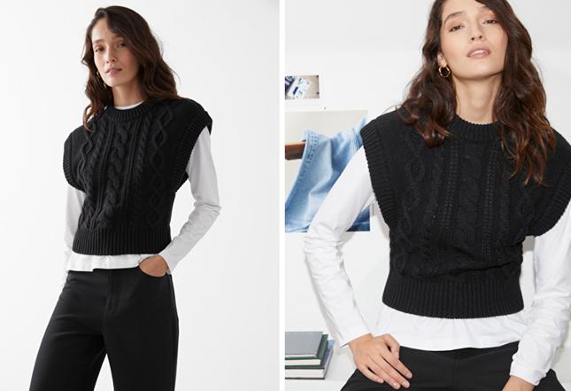 Áo len sweater vest chính thức trở lại, nhưng phiên bản 2021 có khác đôi chút ảnh 4
