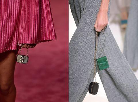 Vì sao những chiếc túi xách trên thế giới đang bé xíu lại, đến mức thành mặt dây chuyền? ảnh 13