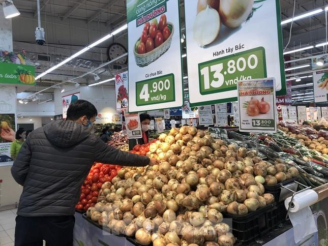 Hình ảnh các siêu thị Hà Nội 'giải cứu' nông sản Hải Dương ảnh 2