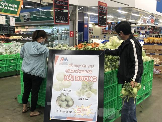 Hình ảnh các siêu thị Hà Nội 'giải cứu' nông sản Hải Dương ảnh 6