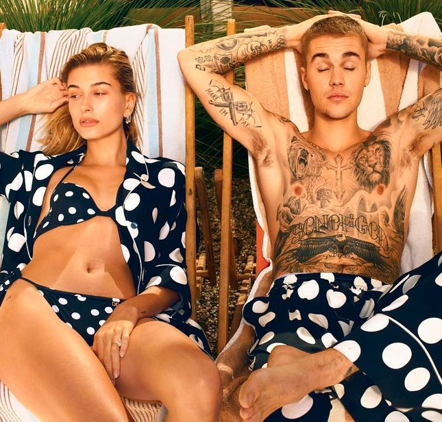 Khoảnh khắc ngọt ngào vợ chồng Bieber khi tự cách ly mùa dịch ảnh 7