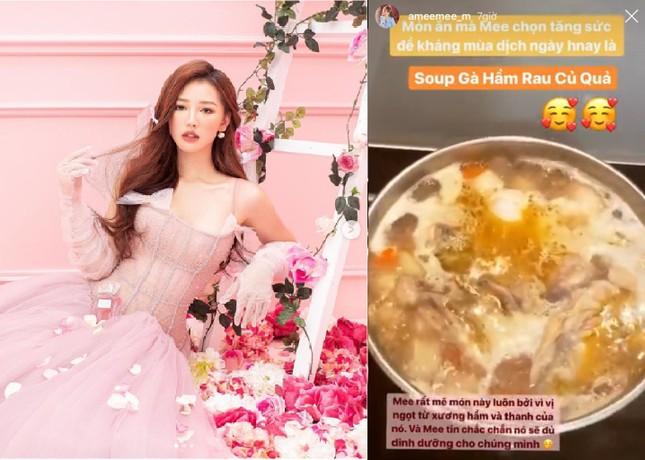 Sống tích cực mùa dịch: Sao Việt hóa 'Siêu đầu bếp' - mỗi ngày một thực đơn mới ảnh 6