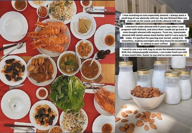 Sống tích cực mùa dịch: Sao Việt hóa 'Siêu đầu bếp' - mỗi ngày một thực đơn mới ảnh 2