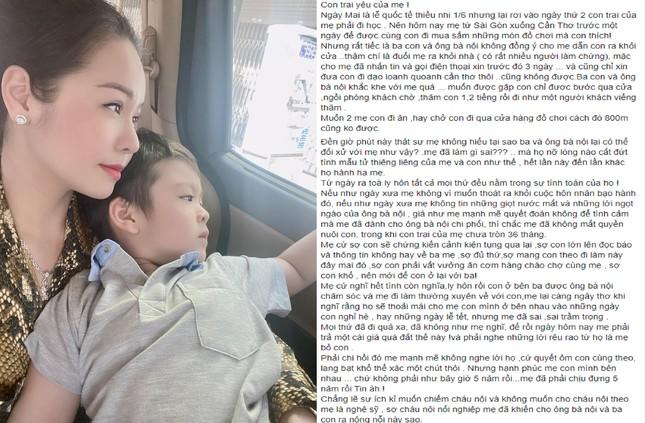 Sao Việt chia sẻ xúc động về con nhân ngày 1/6 ảnh 2
