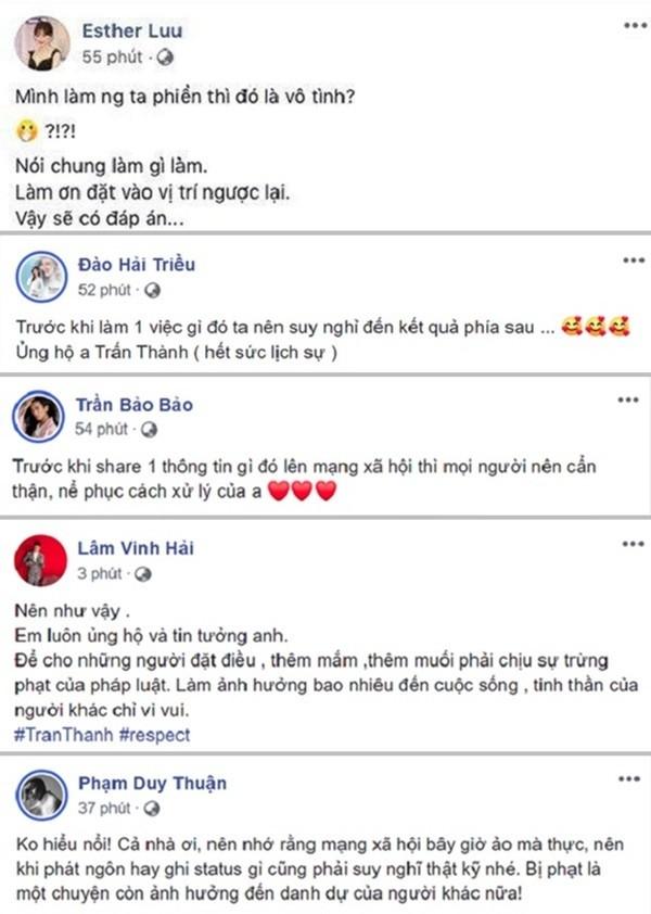 Sao Việt chia sẻ quan điểm về cách hành xử của Trấn Thành khi bị vu khống 'bay lắc' ảnh 2