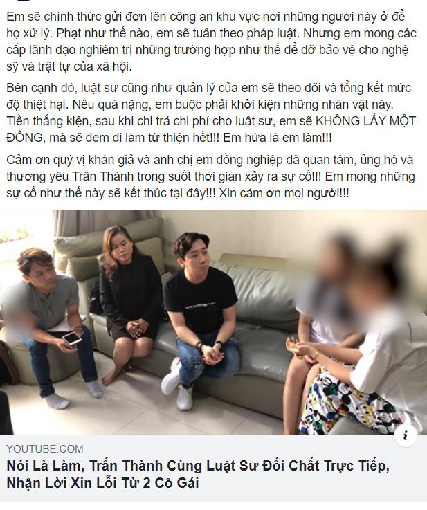 Sao Việt chia sẻ quan điểm về cách hành xử của Trấn Thành khi bị vu khống 'bay lắc' ảnh 1