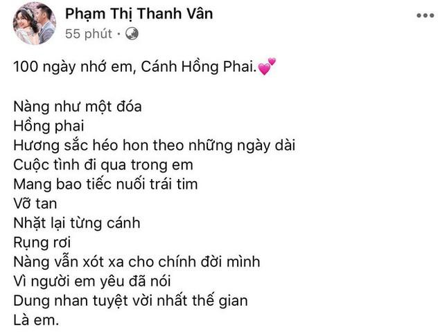 Tròn 100 ngày Mai Phương mất, Ốc Thanh Vân nghẹn ngào chia sẻ xúc động ảnh 1