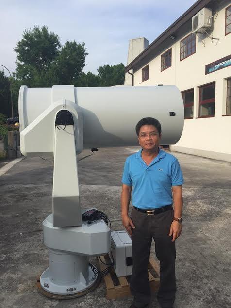 Ngắm đài thiên văn đầu tiên của Việt Nam ở Khánh Hòa ảnh 1