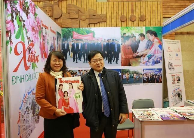 Tiền Phong tham gia Hội báo Xuân Hà Nội 2017 ảnh 1