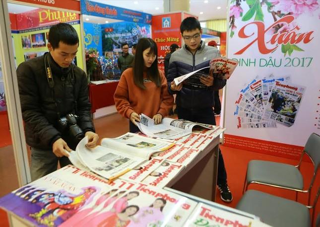 Tiền Phong tham gia Hội báo Xuân Hà Nội 2017 ảnh 2
