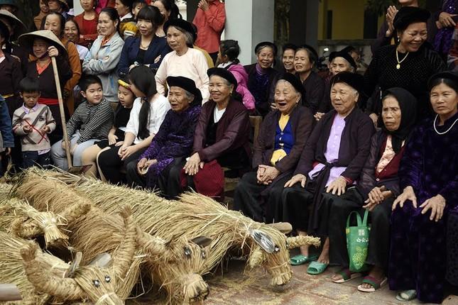 Lạ kỳ lễ hội trâu rơm, bò rạ ở đồng bằng sông Hồng ảnh 10