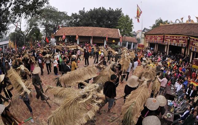 Lạ kỳ lễ hội trâu rơm, bò rạ ở đồng bằng sông Hồng ảnh 11