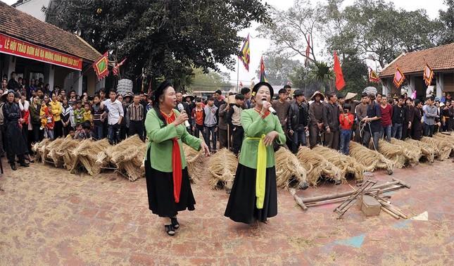 Lạ kỳ lễ hội trâu rơm, bò rạ ở đồng bằng sông Hồng ảnh 12