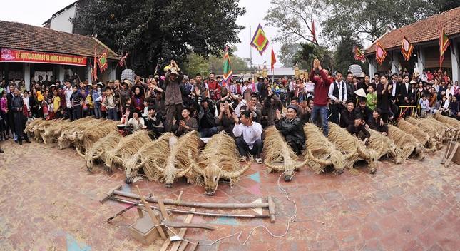 Lạ kỳ lễ hội trâu rơm, bò rạ ở đồng bằng sông Hồng ảnh 13