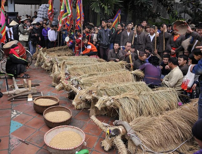 Lạ kỳ lễ hội trâu rơm, bò rạ ở đồng bằng sông Hồng ảnh 14