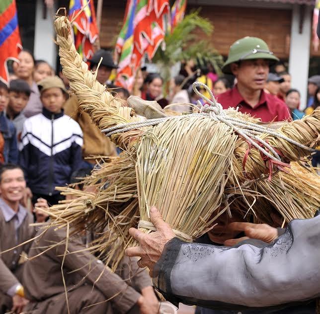 Lạ kỳ lễ hội trâu rơm, bò rạ ở đồng bằng sông Hồng ảnh 18