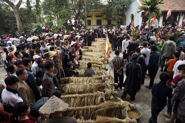 Lạ kỳ lễ hội trâu rơm, bò rạ ở đồng bằng sông Hồng ảnh 6