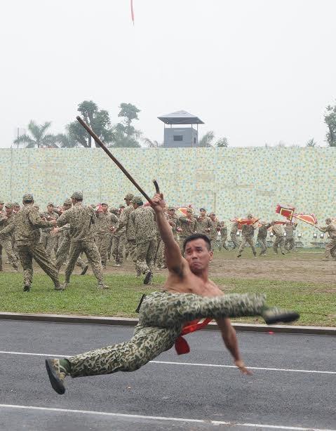Những tuyệt kỹ võ thuật của đặc công Việt Nam ảnh 1