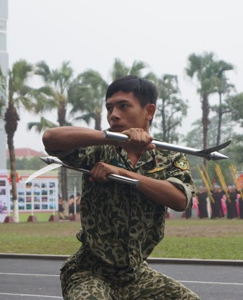 Những tuyệt kỹ võ thuật của đặc công Việt Nam ảnh 6