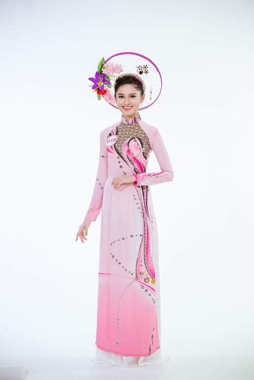 Nhan sắc Á hậu Thùy Dung trước khi dự thi Hoa hậu quốc tế 2017 ảnh 7