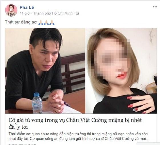 Vụ án Châu Việt Cường làm rúng động showbiz Việt ảnh 1