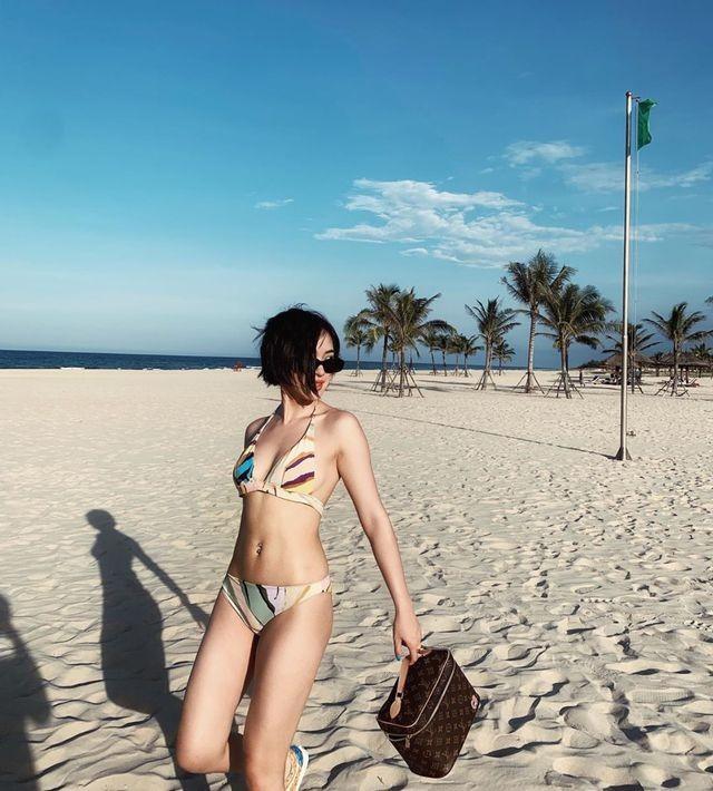 Hot girl Việt đua nhau khoe dáng nóng bỏng trên bãi biển mùa hè ảnh 4