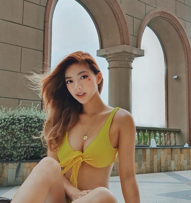 Những hot girl Việt có làn da nâu, diện bikini khoe dáng nóng bỏng ảnh 5
