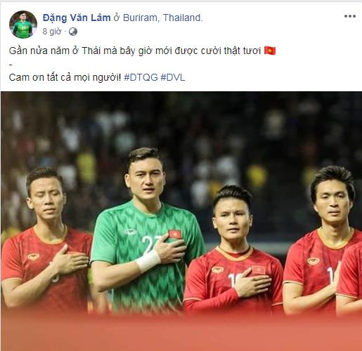 Tuyển Việt Nam thắng Thái Lan, bạn gái hotgirl của Lâm Tây nói gì? ảnh 3
