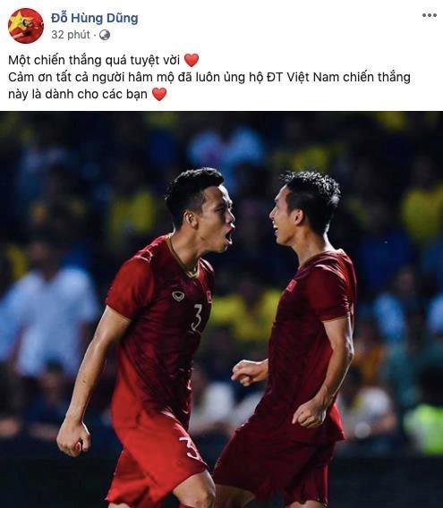 Tuyển Việt Nam thắng Thái Lan, bạn gái hotgirl của Lâm Tây nói gì? ảnh 7
