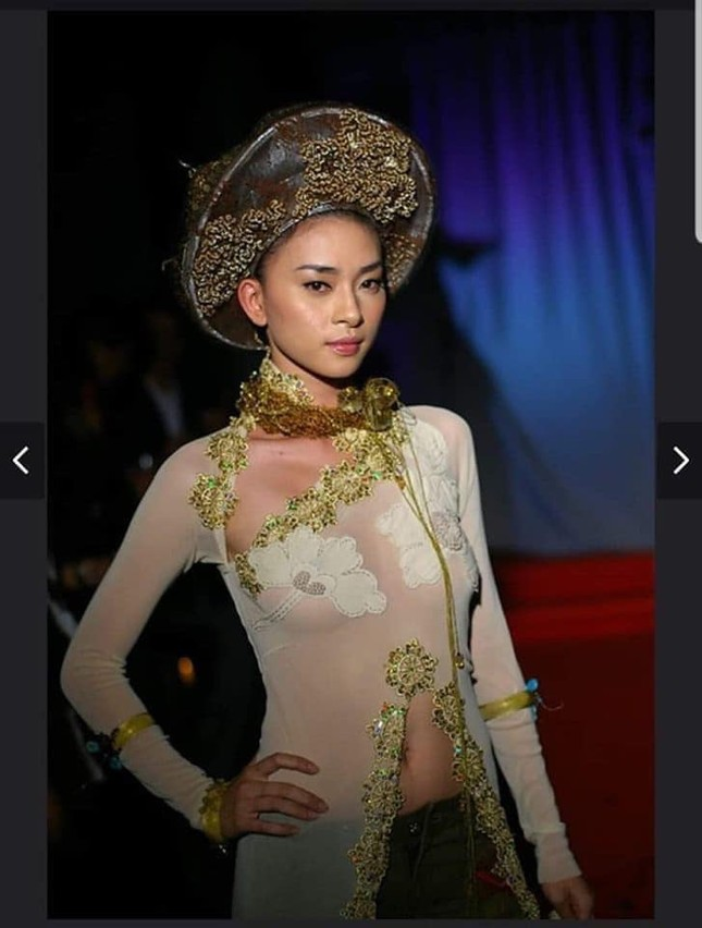 Ngô Thanh Vân lên tiếng về ảnh mặc áo dài 'thả rông' vòng 1 cách đây 15 năm ảnh 1