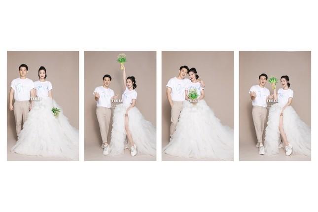 Bật mí về váy cưới của Đông Nhi ảnh 9