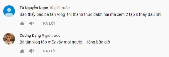 Bà Tân Vlog bị cắt sóng ở 'Thách thức danh hài'? ảnh 5