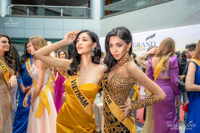 Bất ngờ về mối quan hệ giữa Á hậu Kiều Loan và đại diện Myanmar ảnh 4
