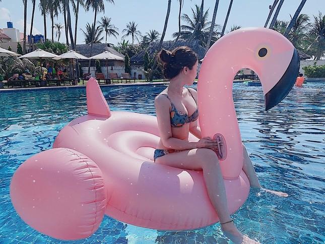 Bạn gái hotgirl của Văn Toàn liên tục tung ảnh bikini khoe 3 vòng 'bỏng mắt' ảnh 6
