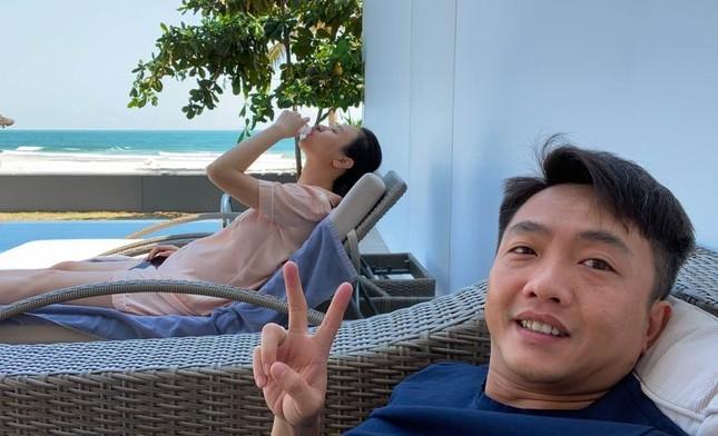 Cường Đô la đăng ảnh 'dìm hàng', Đàm Thu Trang vướng nghi vấn mang bầu ảnh 1