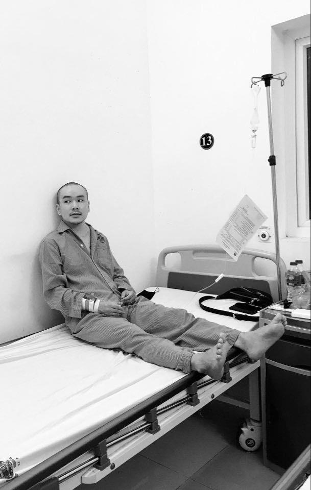Sơn 'Sọ' phim 'Đội đặc nhiệm nhà C21' mắc ung thư hạch ảnh 1