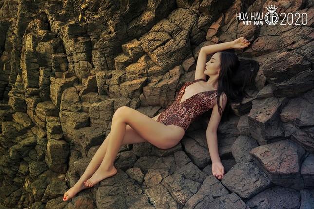 Ngắm thí sinh dự thi Hoa hậu Việt Nam 2020 khoe dáng với bikini ảnh 10