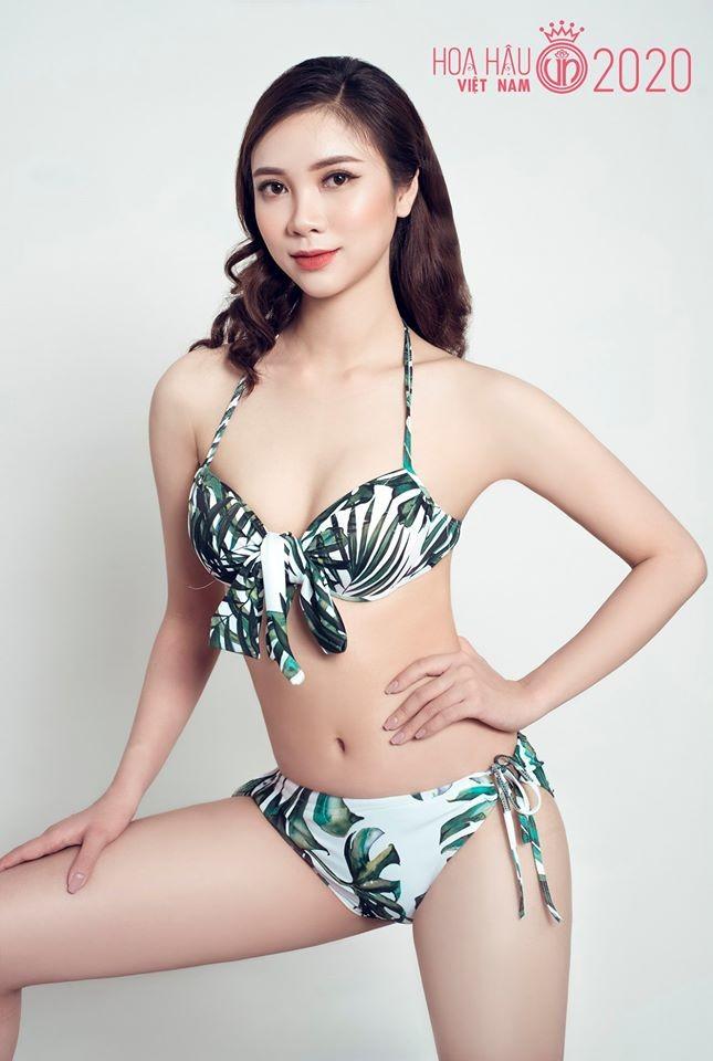 Ngắm thí sinh dự thi Hoa hậu Việt Nam 2020 khoe dáng với bikini ảnh 12