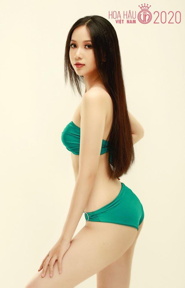 Ngắm thí sinh dự thi Hoa hậu Việt Nam 2020 khoe dáng với bikini ảnh 16