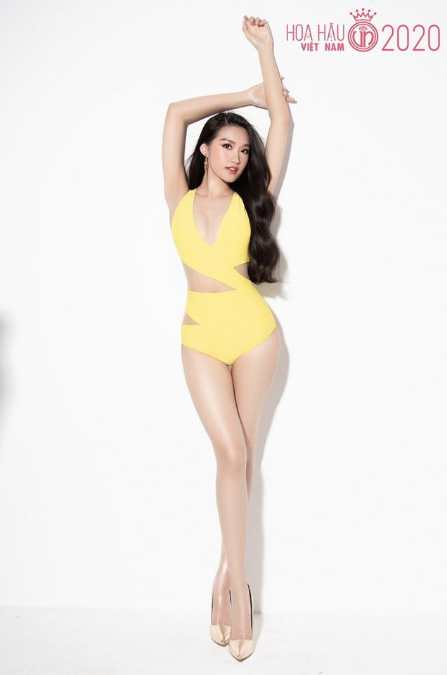 Ngắm thí sinh dự thi Hoa hậu Việt Nam 2020 khoe dáng với bikini ảnh 4