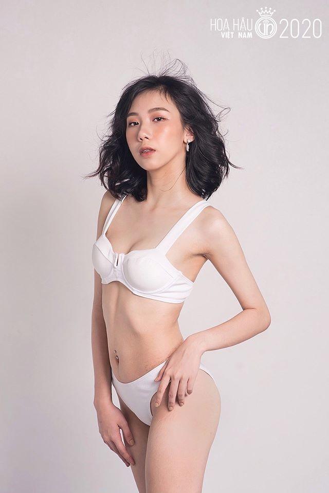 Ngắm thí sinh dự thi Hoa hậu Việt Nam 2020 khoe dáng với bikini ảnh 8