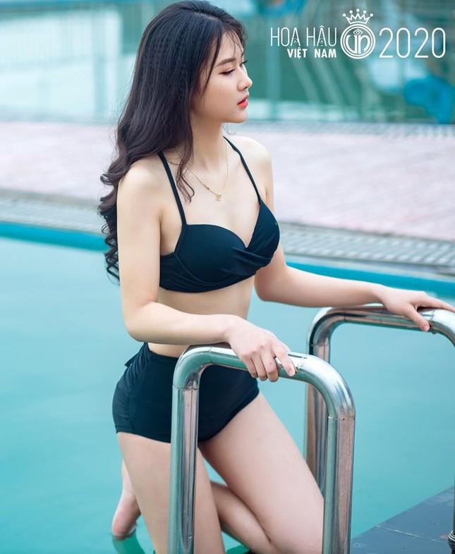 Ngắm thí sinh dự thi Hoa hậu Việt Nam 2020 khoe dáng với bikini ảnh 9