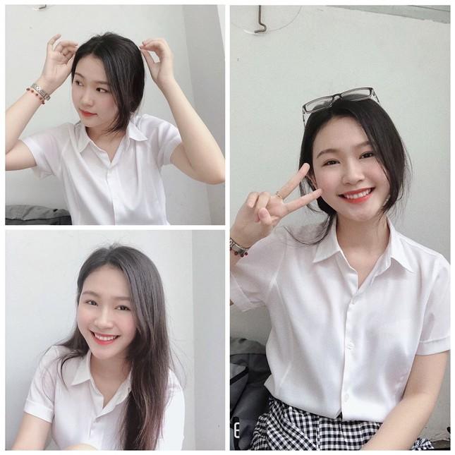 Cô gái đẹp 'sương sương' như Hoa hậu Thu Thảo tại Hoa hậu Việt Nam 2020 ảnh 8