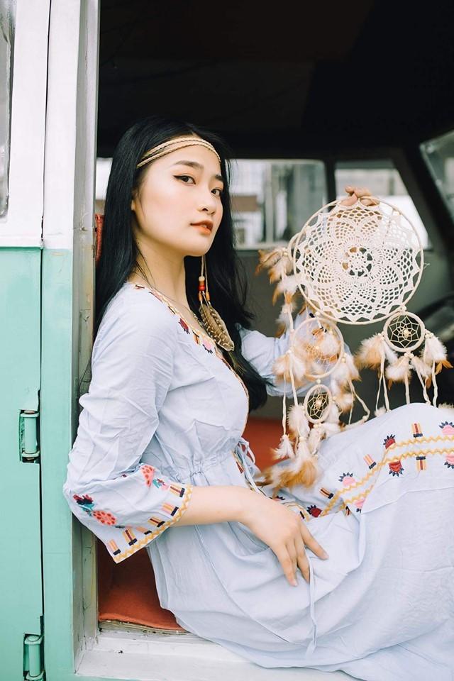 Nữ sinh Báo chí thần tượng Hoa hậu Nguyễn Thị Huyền, quyết tâm ghi danh tại HHVN 2020 ảnh 6