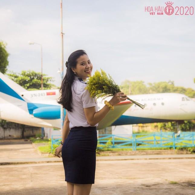 Nữ sinh Học viện Hàng không có thành tích siêu 'khủng' dự thi Hoa hậu Việt Nam 2020 ảnh 2