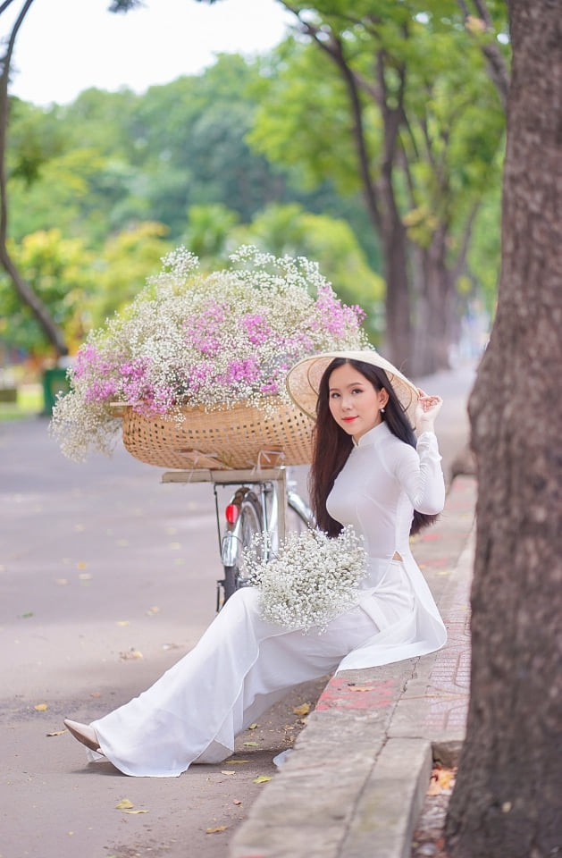 Sắc vóc ba nữ sinh Học viện Hàng không dự thi Hoa hậu Việt Nam 2020 ảnh 2