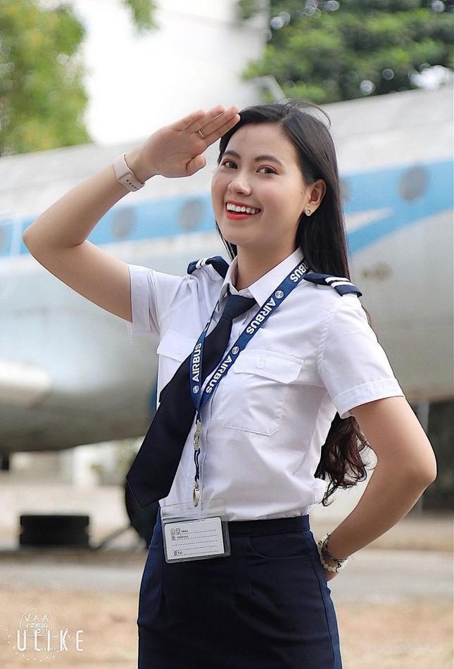 Sắc vóc ba nữ sinh Học viện Hàng không dự thi Hoa hậu Việt Nam 2020 ảnh 5