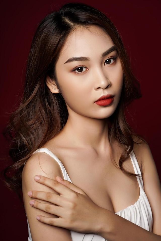 Nữ sinh đạt 9 điểm môn Văn dự thi Hoa hậu Việt Nam 2020 ảnh 4